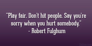 Motivational Quote by Robert Fulghum with Image !!