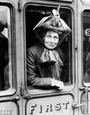 Icons: Author Charlotte Bronte or suffragette Emmeline Pankhurst could ...