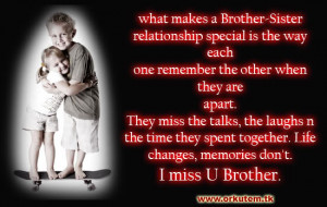 miss you brother quotes