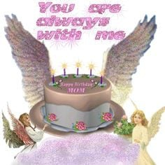Happy Birthday To Mom In Heaven Quotes