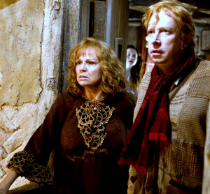 The Weasley Family Molly And Arthur Weasley