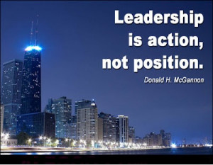 Leadership Is Not Position Leadership Quotes