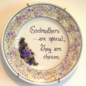 Godmother Decorative Plate