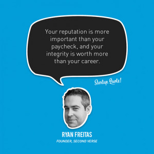 ... than your paycheck, and your integrity is worth more than your career