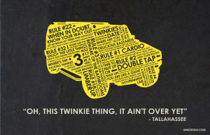 Zombieland ZombieLand Quote Poster