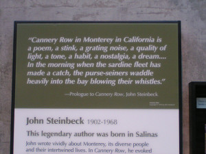for john steinbeck,symbols in cannery row,john steinbeck texas quote ...