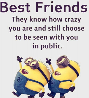 Best 30 Minions Friend Quotes Pics