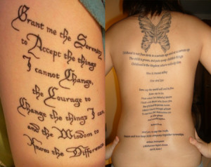 Prayer tattoo quotes, prayer quotes, tattoo quotes from bible