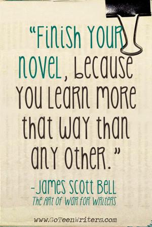 Novel writing helper your life