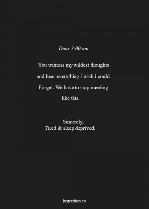 Late Night Thoughts Tumblr Quotes