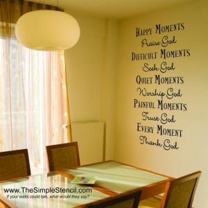Bible Quotes Stencils Quotesgram