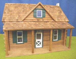 Log Cabin Dollhouse Kit