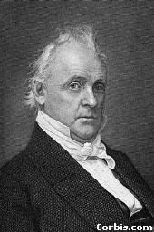 President James Buchanan, the man whose audacious agenda of obtaining ...