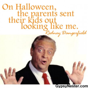 On Halloween, the parents sent their kids out looking like me. Rodney ...