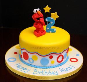 Cute Elmo cake!