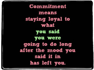 CommitmentMeans