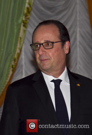 Francois HOLLANDE French President Francois Hollande on a state