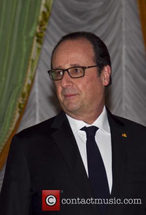 Francois HOLLANDE French President Francois Hollande on a state