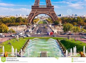 Eiffel Tower Paris Stock Image