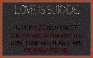 ... Related: Suicide Quotes Tumblr , Suicide Quotes And Sayings