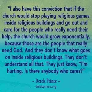 quote by Derek Prince.