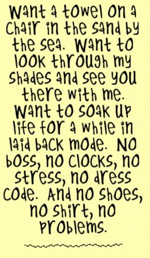 Kenny Chesney - No Shoes, No Shirt, No Problems - song lyrics, song ...