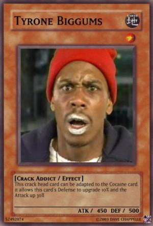 Tyrone Biggums Card by TheKakarotKing