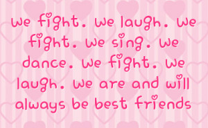 Best Friend Fight Quotes