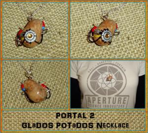 Portal 2 Glados Potato Portal 2 - glados potados