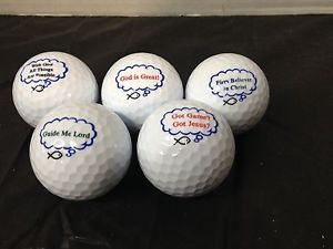 INSPIRATIONAL-CHRISTIAN-INSPIRED-GOLF-BALLS-MULTIPLE-SAYINGS-PICK-1 ...