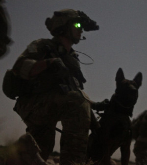 Ranger from B Company, 2nd Battalion, 75th Ranger Regiment and his ...