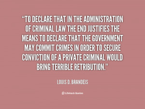 Louis Brandeis Quotes
