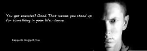 Best Quotes of Eminem(Slim Shady)