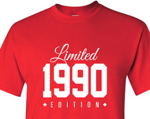 ... 25 years old shirt limited edition 25 year old 25th birthday party tee