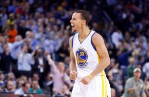 Jan 21, 2015; Oakland, CA, USA; Golden State Warriors guard Stephen ...