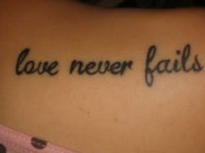 are looking to update your look, this Love Quotes Tattoos For Girls ...