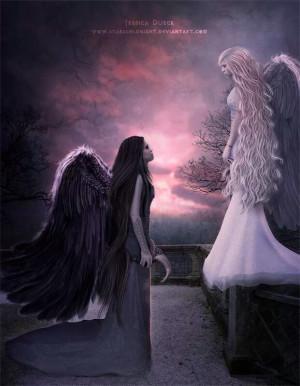Dark And Light Angels