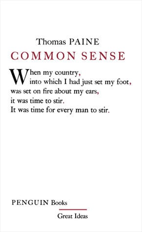 Common Sense Thomas Paine Quotes Common sense (great ideas)
