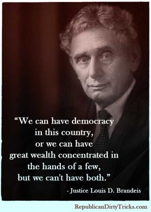 meme brandeis democracy wealth jpg