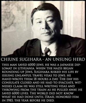 Chiune Sugihara - An unsung hero