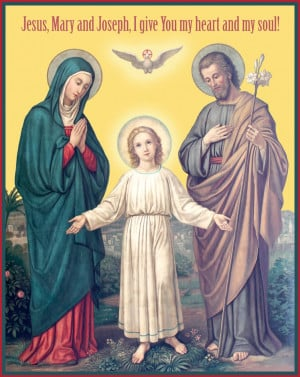 Re: Happy Feast of the Holy Family!!