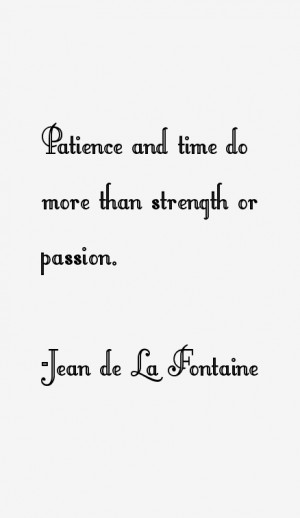 Jean de La Fontaine Quotes amp Sayings