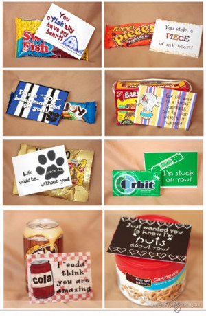 Cute Food Sayings For Valentines Day