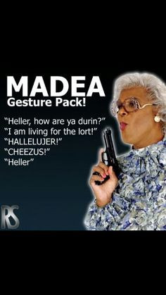 ... Funny Madea Quotes, Funny Quotes, Funny Stuff, Favorite Quotes, Heller