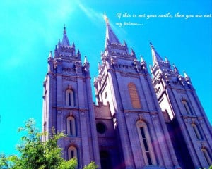 LDS QUOTES, PICTURE OF THE TEMPLE