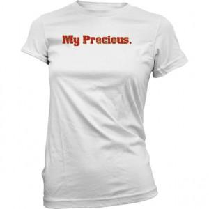 Womens T-shirt - Gollum: My Precious - Quote - … Voir la