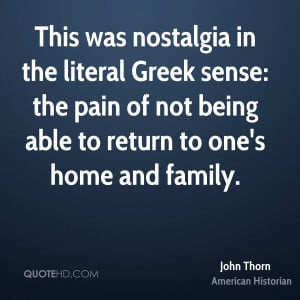 John Thorn Home Quotes