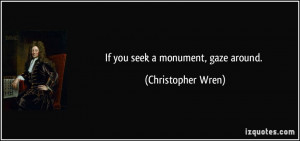 More Christopher Wren Quotes