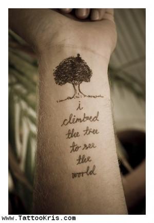 Buddha Quote Tattoo 1