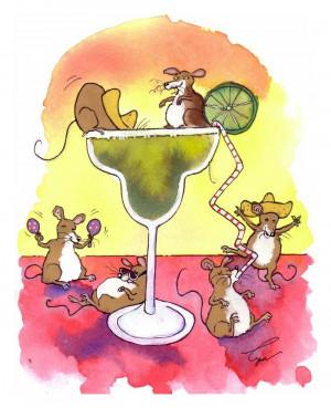 Margarita Funny Margarita mice/ funny fiesta